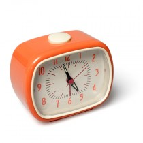 Retro Wecker Orange
