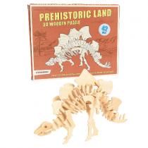 3D Holz Puzzle STEGOSAURUS