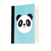 A6 Schreibbüchlein Miko der Panda