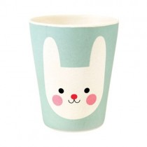 Happy Friends Bamboo Becher Hase