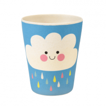 Bamboo Becher Happy Cloud