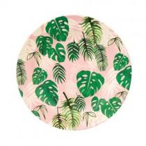 Bamboo Teller Tropical