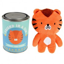 """Friend in a Tin """"Terry the Tiger"""""""