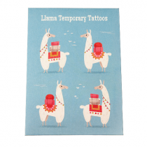 Fun Tattoo Set Lama