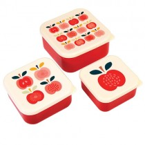 Lunchboxen Set Vintage Apple