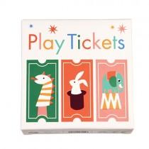 """""""Ticket Play"""" Rolle mit Spiel-Eintrittskarten"""