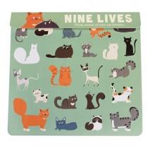 """Sticker Set """"Katzen"""""""