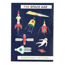 Fun Tattoo Set The Space Age