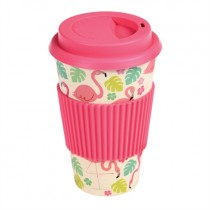 "Bamboo To-go Becher ""Flamingo"""