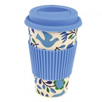 "Bamboo To-go Becher ""Blue Dove"""