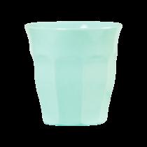 Melamin Becher Unifarben Light Mint