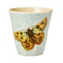 Melamin Becher Nostalgia Butterfly