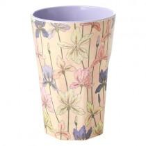 Melamin Latte Becher Iris