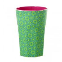 Melamin Latte Becher Marrakesh Grün