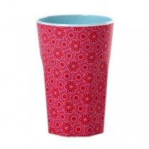 Melamin Latte Becher Marrakesh Pink