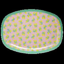 Melamin Platte Summer Lemon