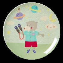Melamin HAPPY CAMPER Kinderteller