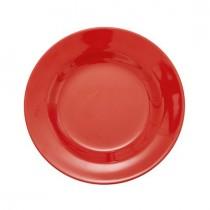 Melamin Teller Unifarben New Rice Red