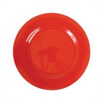 Melamin Teller Unifarben Rot