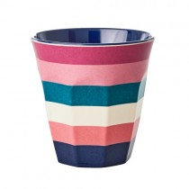 "Melamin Becher ""Stripes"""