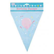 Papier Girlande Birthday