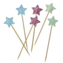 "Party Sticks ""Glitter Stars"""