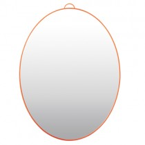 Rice Spiegel OVAL Neon Coral