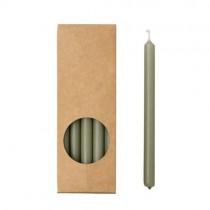 20er Kerzen Set 17,5cm Eukalyptus