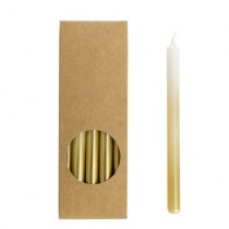 20er Kerzen Set 17,5cm Gradient Gold
