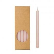 20er Kerzen Set 17,5cm Rosa