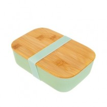 Bamboo Brotdose Mint