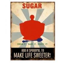 """Schild """"Sugar"""""""