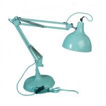 große Schreibtischlampe Light Türkis