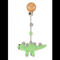 Häkel Dino Kinderwagen Clip