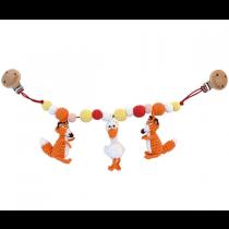 Häkel Füchse Kinderwagen Kette