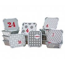 Adventskalender Schalen Set