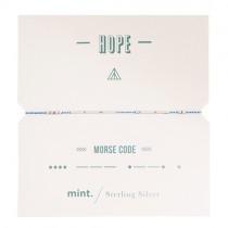 """Armband mit Morsezeichen """"Hope"""""""
