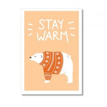 """Timi Karte """"Stay warm"""""""