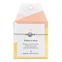 "Armband ""Make a wish"" Marble"