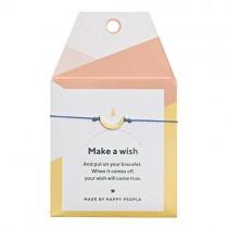 "Armband ""Make a wish"" Sichel"