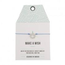 "Armband ""Make a wish"" Traumfänger Silber"