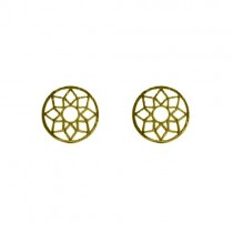 "Ohrringe ""Mandala"" Gold"