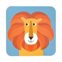 Bunte Tierfreunde Platzset Löwe