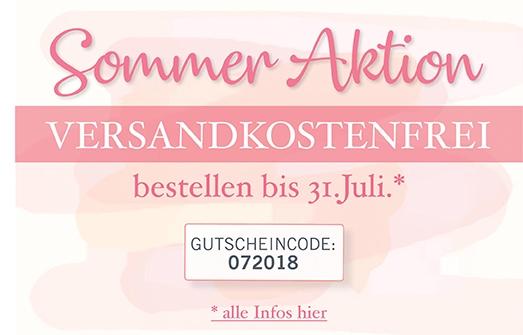Sommer Aktion Versandlostenfrei