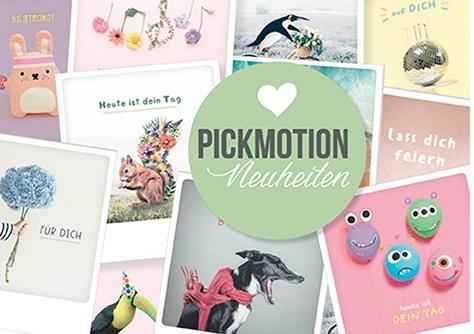 Pickmotion Neuheiten
