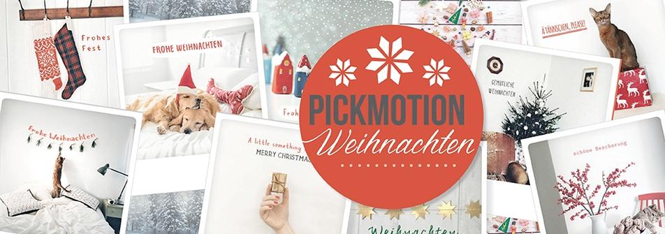 Pickmotion Weihnachten