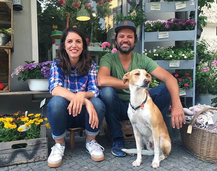 Jens, Laura und Eddy